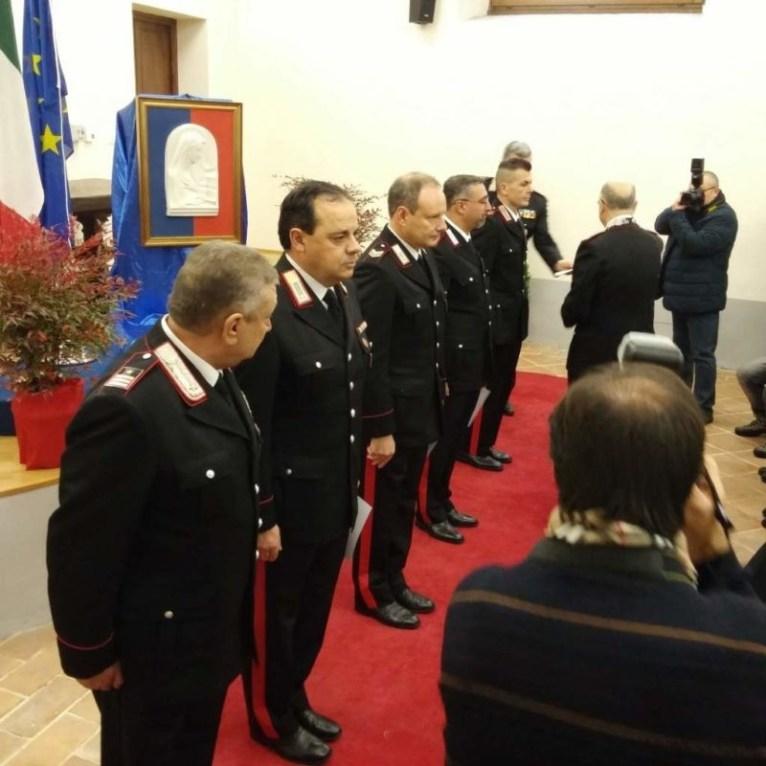 Encomio per i carabinieri di Corciano, la cerimonia nella festa della Virgo Fidelis 5