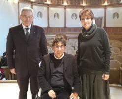 Luca Pancalli e Benda