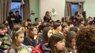 La testimonianza di Piero Terracina commuove gli alunni della Bonfigli 7