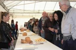 Mantignana, show di Giorgione alla rassegna della Torta di Pasqua. E si lavora per la DOP 7