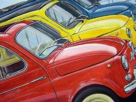 auto Fiat 500 cronaca