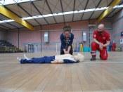 I volontari del Comitato della Croce Rossa docenti speciali per i ragazzi dell'Istituto Benedetto Bonfigli 6