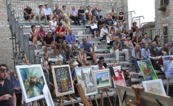 Pittura estemporanea: a Corciano 52 artisti partecipano alla seconda edizione del premio 2