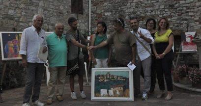 Pittura estemporanea: a Corciano 52 artisti partecipano alla seconda edizione del premio 1