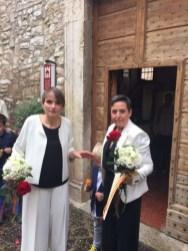 Unioni civili: oggi il sì di Gabriella e Michela 2