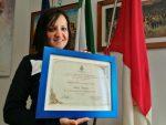 Ciclismo: Il Comune festeggia Jenny Narcisi, consegnata una targa nella sede municipale
