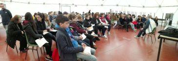 Gli allievi dell'Istituto Benedetto Bonfigli incontrano il Campione Paralimpico Ubaldo Cecilioni 2