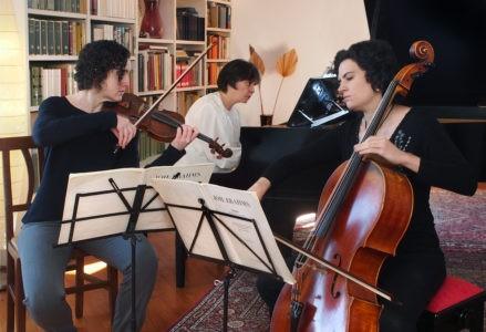 concerto cucinelli musica teatro trio ars et labor cronaca solomeo