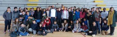 Gli allievi dell'Istituto Benedetto Bonfigli incontrano il Campione Paralimpico Ubaldo Cecilioni 1
