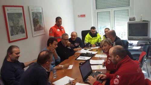 croce rossa emergenza ovus prociv sisma solidarietò terremoto cronaca glocal taverne