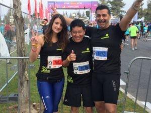 Federico claure Gerusalemme l'unatici maratona podismo Sacerdote corciano-centro cronaca ellera-chiugiana glocal sport