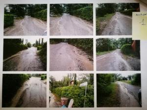 """san mariano via venturi 9 300x225 - Senza strada e senz'acqua da anni, le famiglie denunciano: """"Siamo al massimo della sopportazione"""""""