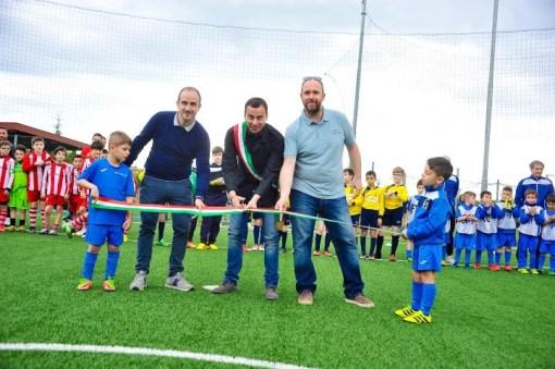 Ellera Calcio: inaugurato il nuovo campo, al via il 3° Torneo Giovanile
