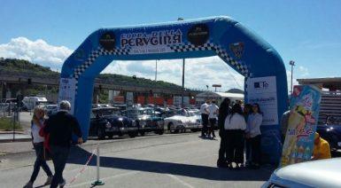 Al via la Coppa della Perugina, la partenza a Corciano con Betti e Romizi 1