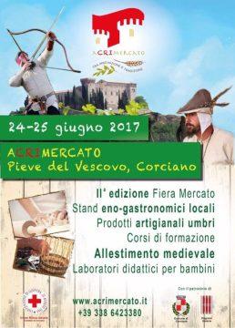 Torna L'aCRImercato a Pieve del Vescovo con stand, laboratori e allestimento medievale 4
