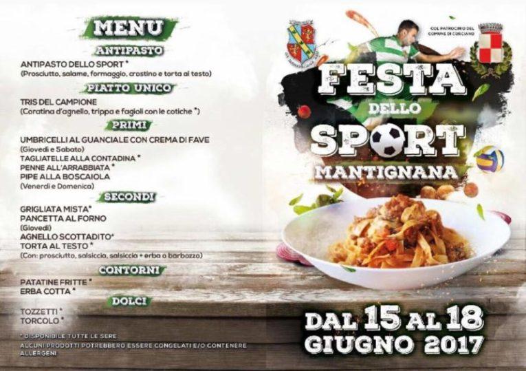 """A Mantignana torna la tre giorni della """"Festa dello Sport"""" 2"""