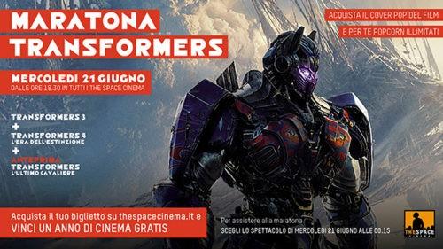 concorso gherlinda l'ultimo cavaliere maratona transformers the space cinema transfromers corciano-centro ellera-chiugiana