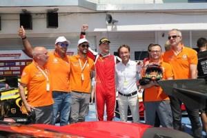 Motori, le Ferrari umbre della CdP-De Poi trionfano a Budapest