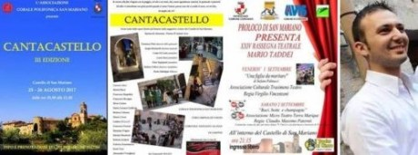 Cantacastello eventi teatro eventiecultura san-mariano