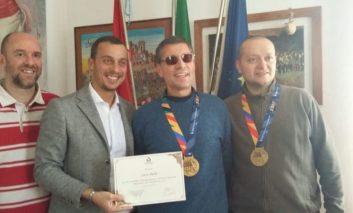 Luca Aiello, dalla maratona di New York al riconoscimento in Comune