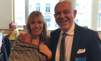 Bruxelles: il consigliere Luca Merli ricevuto dall'on. Mussolini insieme ad altri amministratori umbri