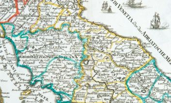 La cartografia storica dell'Italia Centrale in una mostra nella chiesa di San Francesco