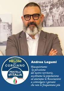 Andrea 212x300 - Elezioni a Corciano: presentata la lista di Fratelli d'Italia per Franco Testi