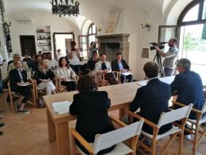 IMG 20180521 112754 300x225 - Ricostruzione: la Fondazione Cucinelli restaura anche il Teatro di Norcia