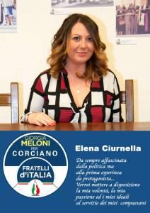 elena ciurnella 212x300 - Elezioni a Corciano: presentata la lista di Fratelli d'Italia per Franco Testi