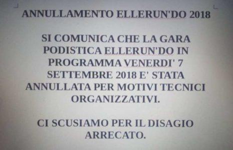corsa ellerundo podismo sospensione trofeo cronaca ellera-chiugiana