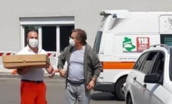 Donate torte di Pasqua all'Ospedale di Perugia, i medici ringraziano la Rosticceria Ellera