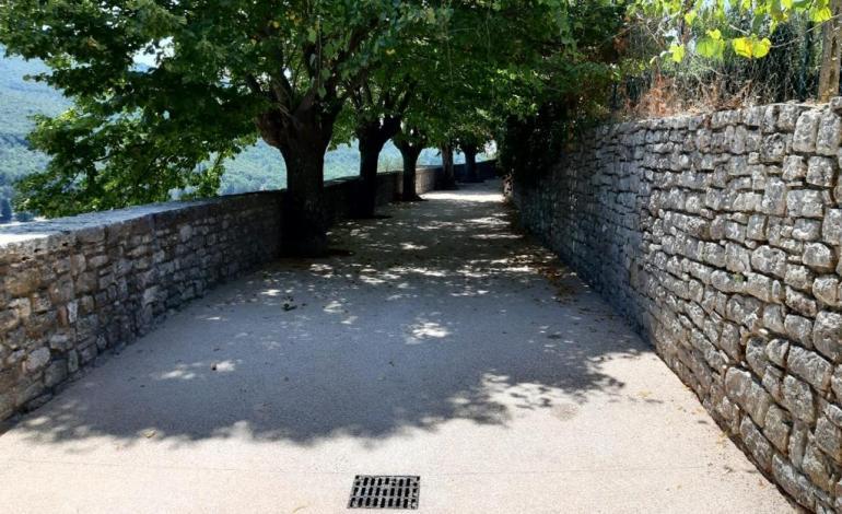 Nel centro storico di Corciano prosegue la manutenzione straordinaria