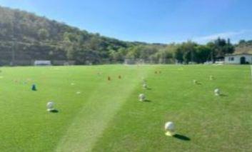 """Il campo in erba sintetica """"G. Fioroni"""" è pronto, inaugurazione a ottobre"""