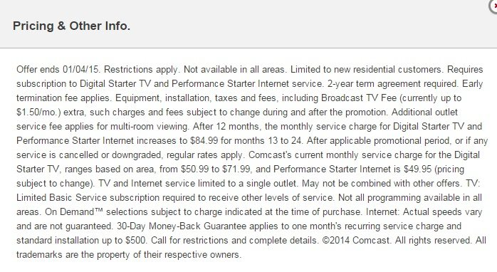 Why The Comcast Internet Plus TV Packages May Not Be The Best Deal