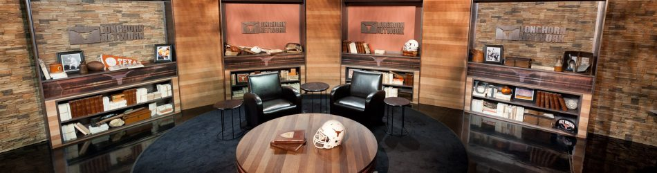 August 26, 2011 - Austin, TX - Longhorn Network Studio: Empty set of the Longhorn Network Launch. Credit: Joe Faraoni/ESPN