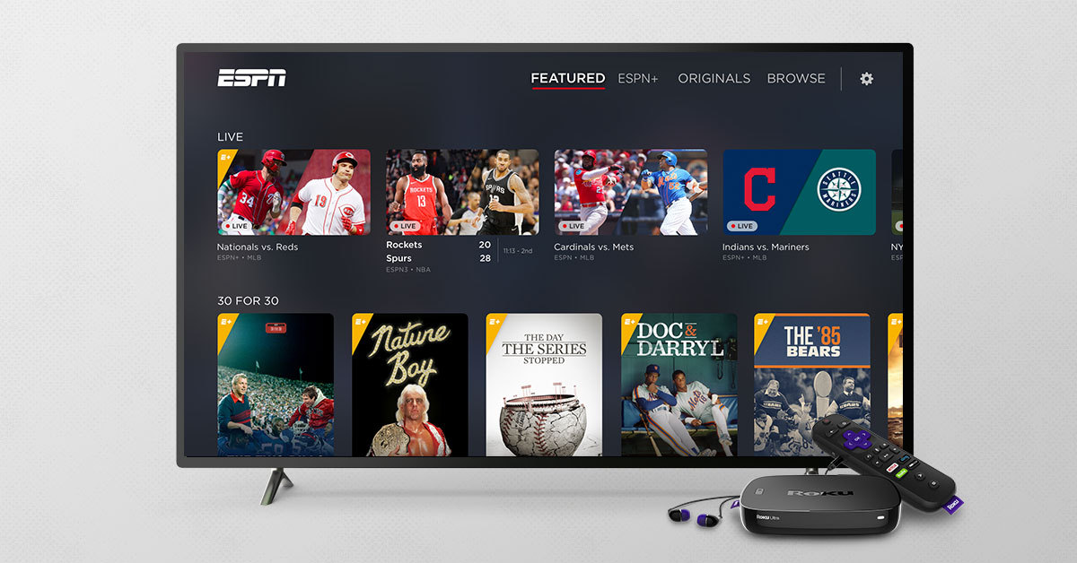 How to Watch ESPN+ on Roku, Fire TV, Apple TV, & More - Cord