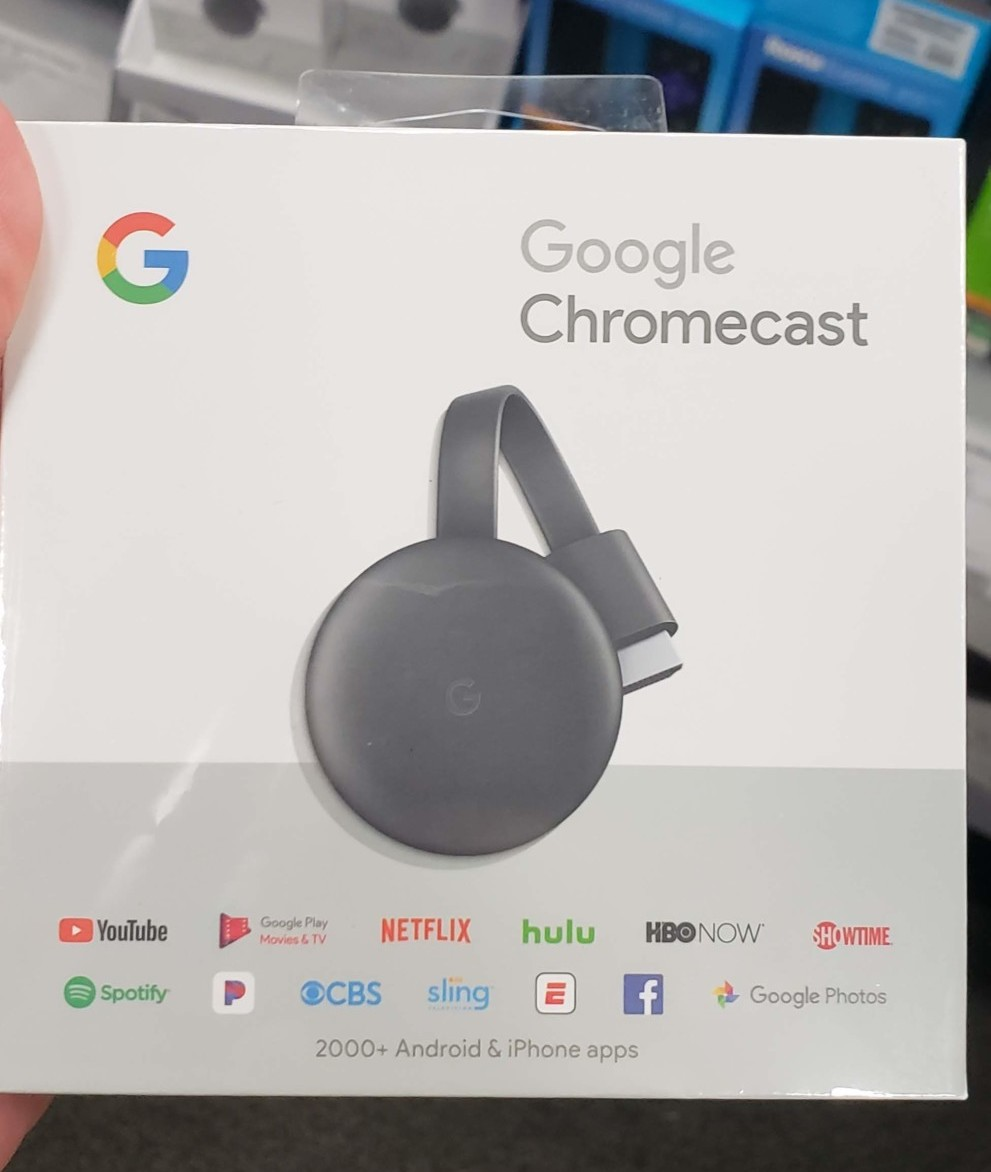 Google Quietly Launches Third-Gen Chromecast