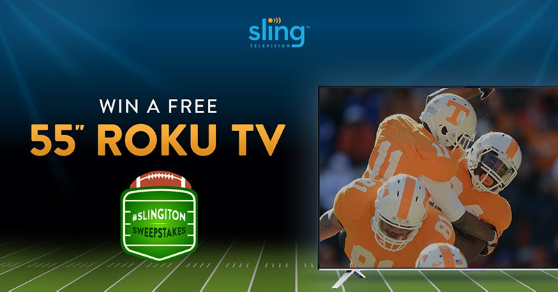 Sling TV is Having a Refer a Friend Sweepstakes - Cord