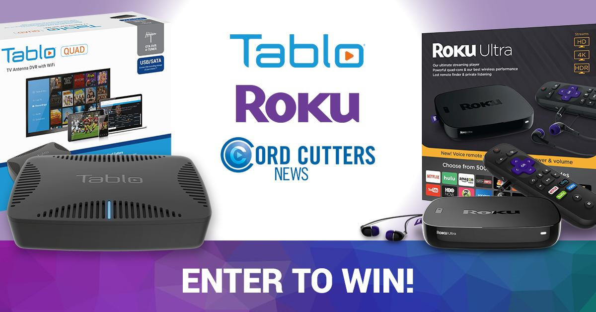 Ends Tonight! We Are Giving Away a Tablo Quad DVR, Roku