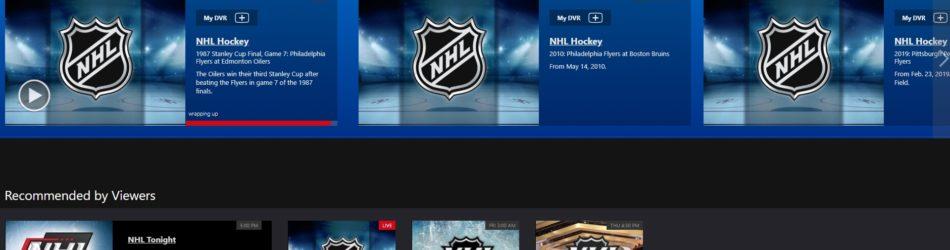 NHL PSVue