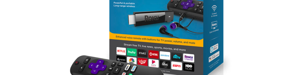 Roku Streaming Stick+ Headphone Edition