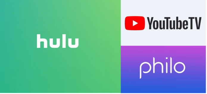 Hulu Youtube TV Philo