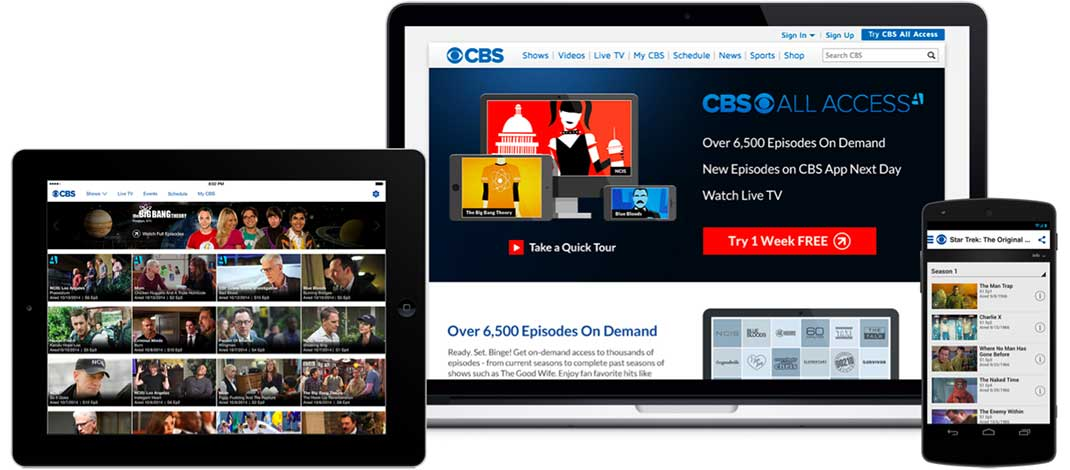 Deal Alert: Free Month Of CBS All Access With Coupon Code