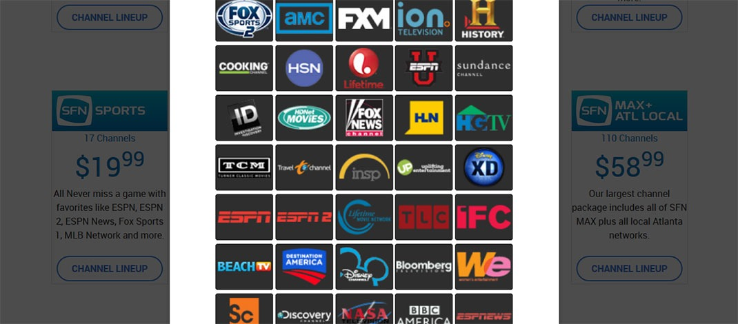 SFN TV Now, Sony Vue & Sling TV Competitor Offering Free Trial