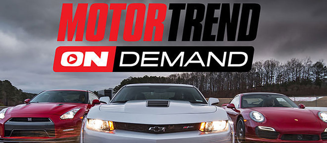 Motor Trend OnDemand Now Available On Xbox One & Xbox 360