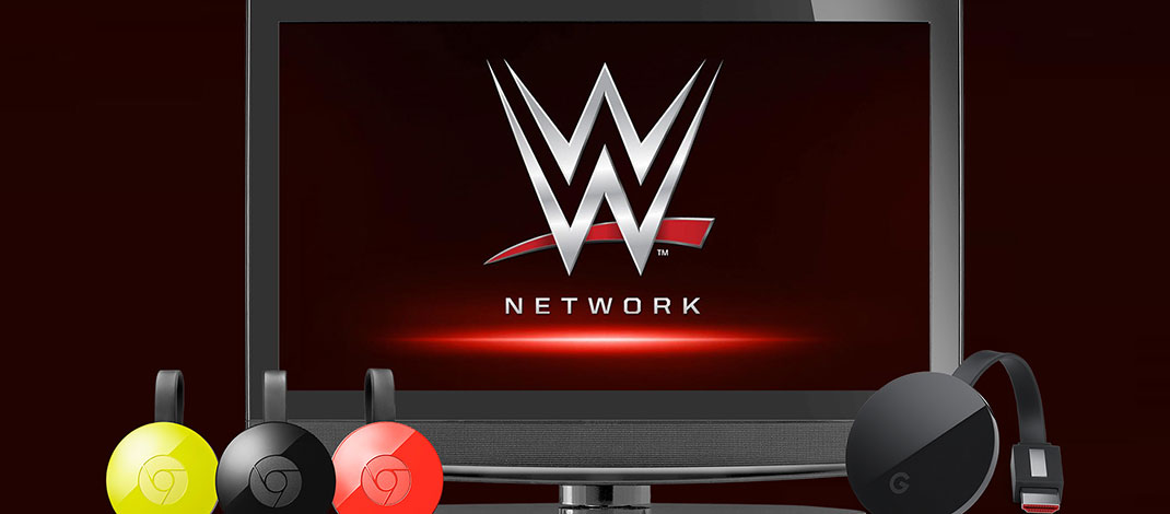WWE Network Now Available On Google Chromecast