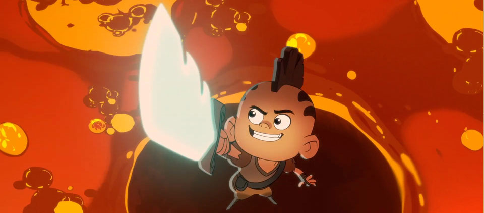 Amazon Original Kids Series Niko and the Sword of Light Premieres July 21