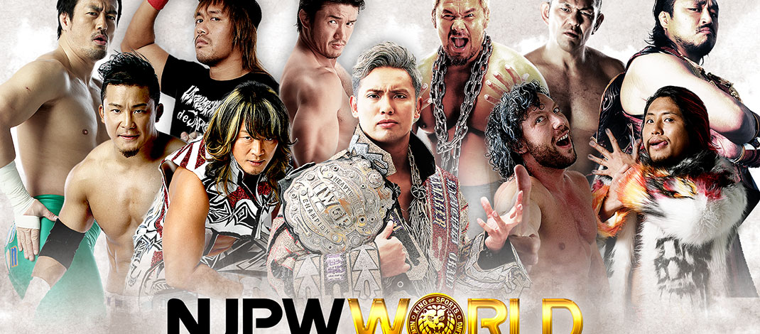 NJPW World Now Available On Amazon Devices