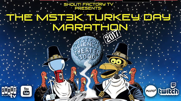 Shout! Factory TV Presents The MST3K Turkey Day Marathon