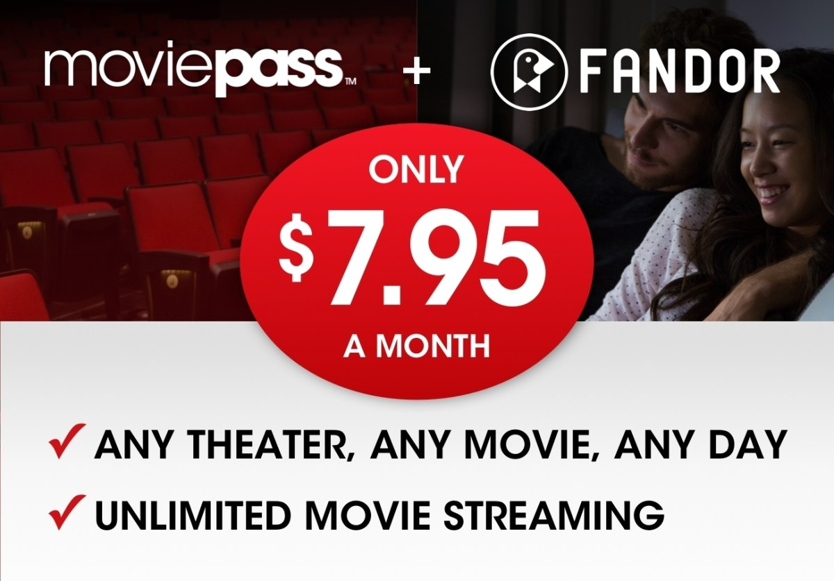MoviePass Lowers Its Price To $7.95 Per Month Plus Unlimited Streaming